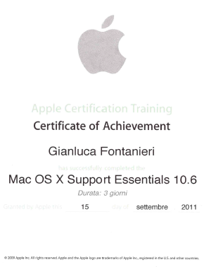 MAC OS X Support Essentials 10.6