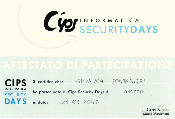 Cips Security Days​